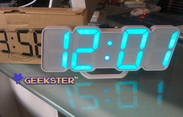 Giant LED digital clock Canada
